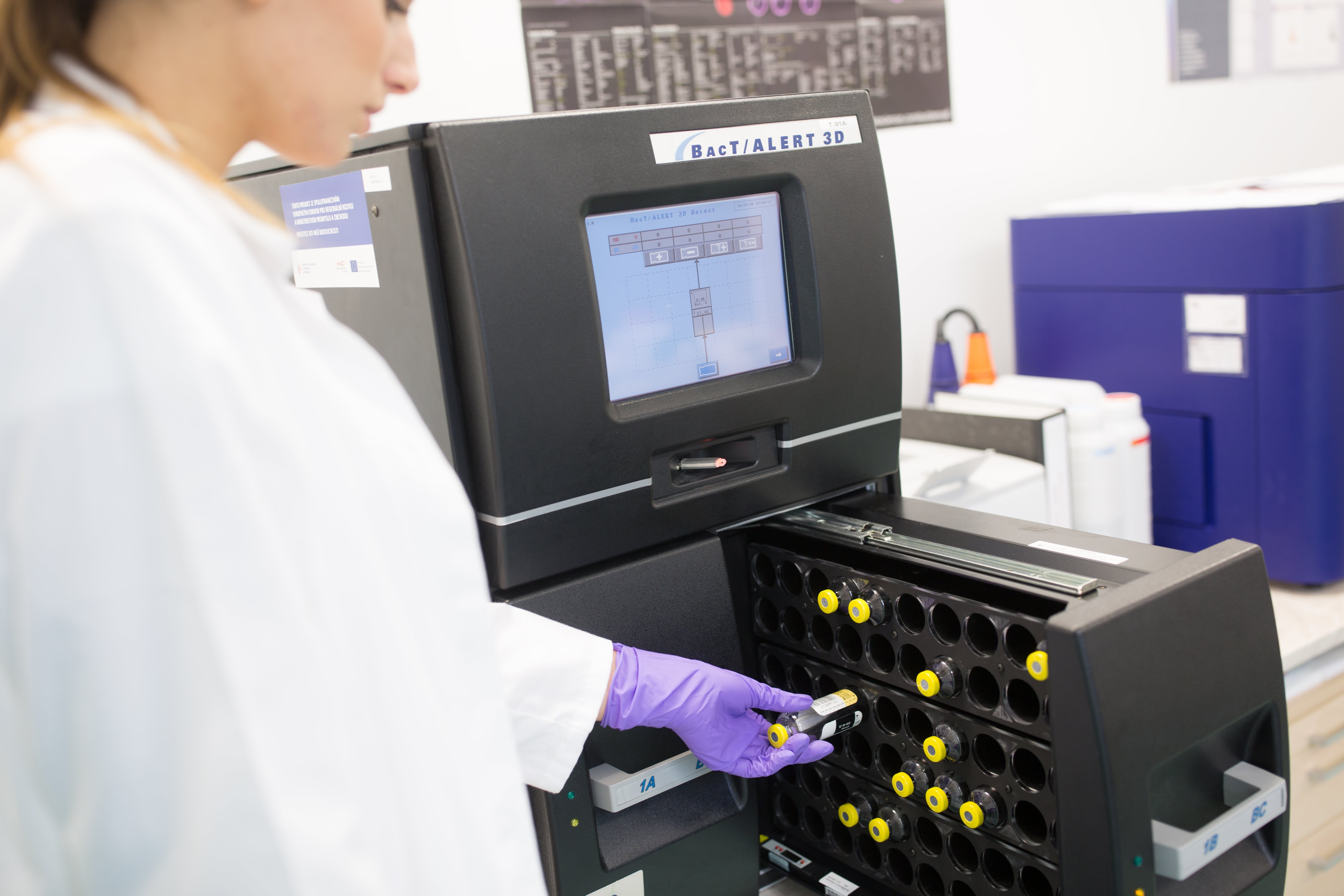 Výstupní kontrola přípravku Amnioderm